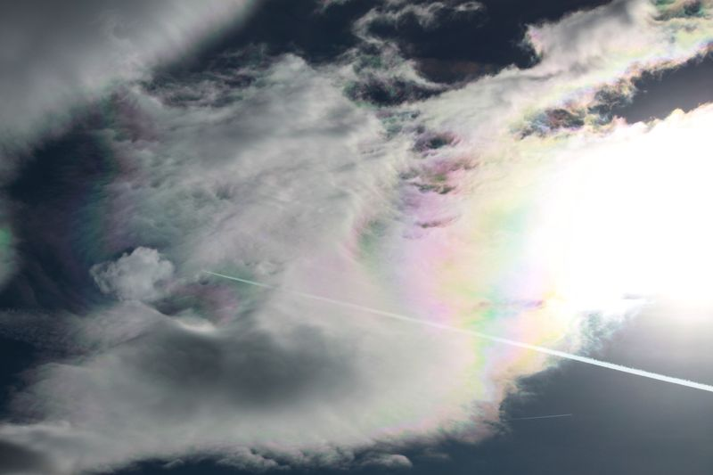 Iridescent clouds 12/31/2011 © Angela Monaghan